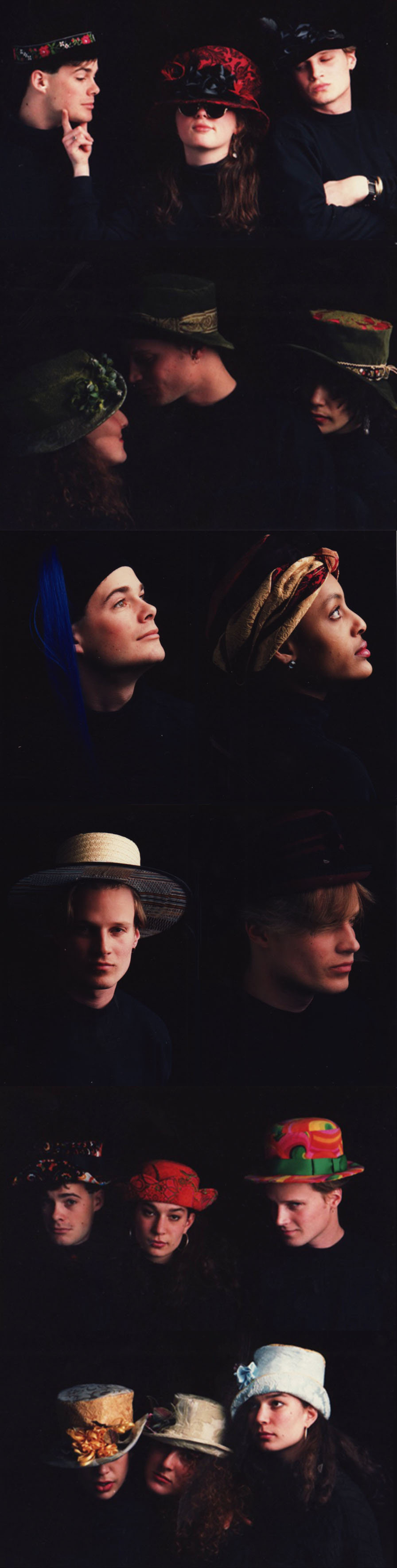 Hats from Fall/Winter 1988 and Spring/Summer 1989