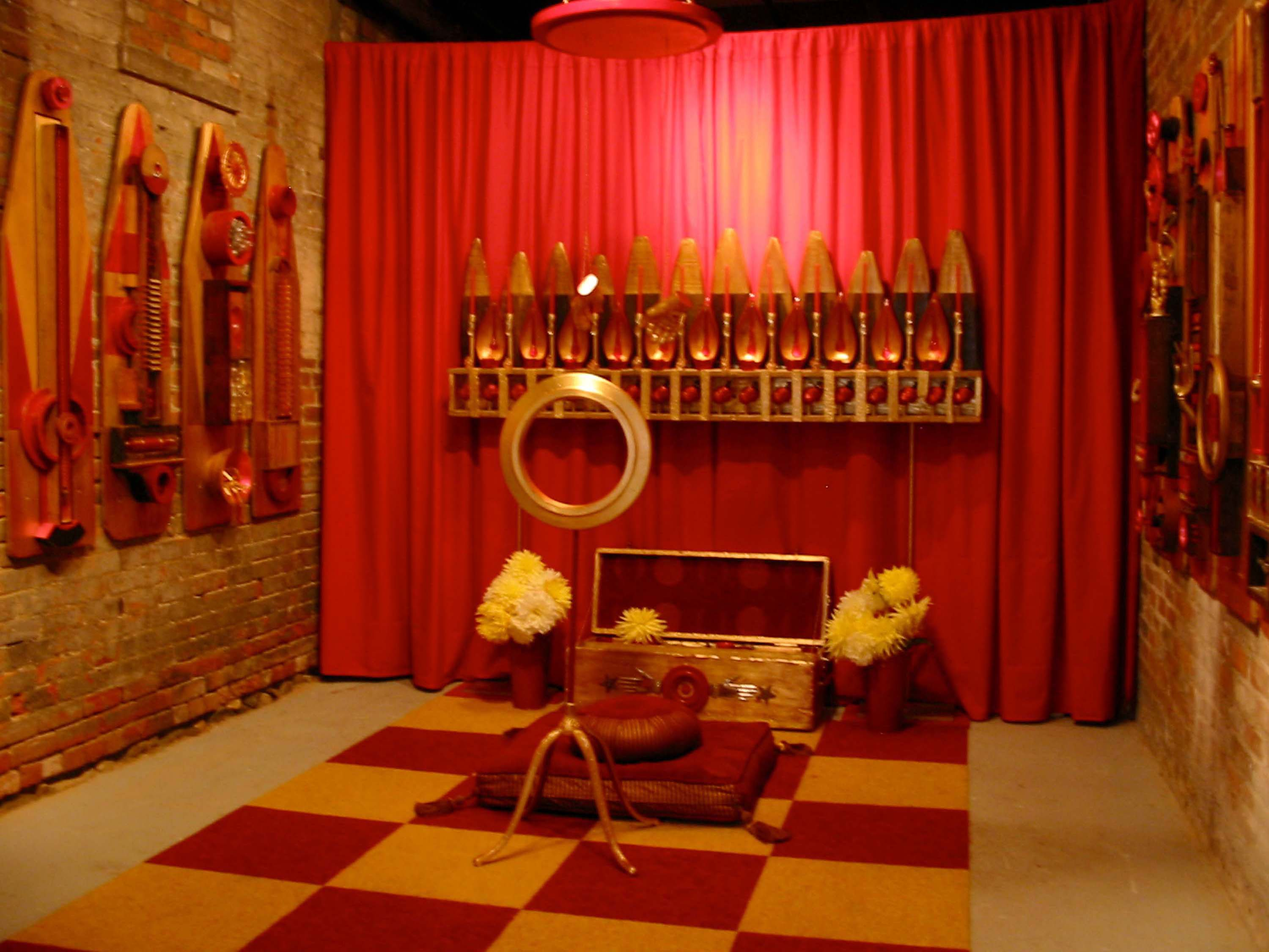 """Meditation Chapel: Altar to the Heart of Compassion\"" and \""14 Visual Prayers\""