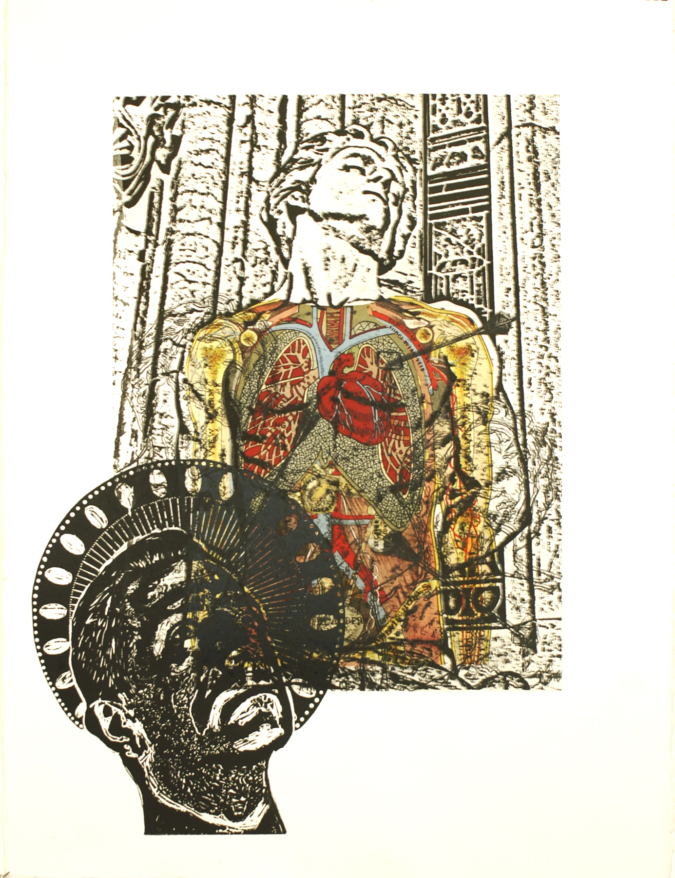 """St. Sebastian (Self Portrait with Anatomy)\""