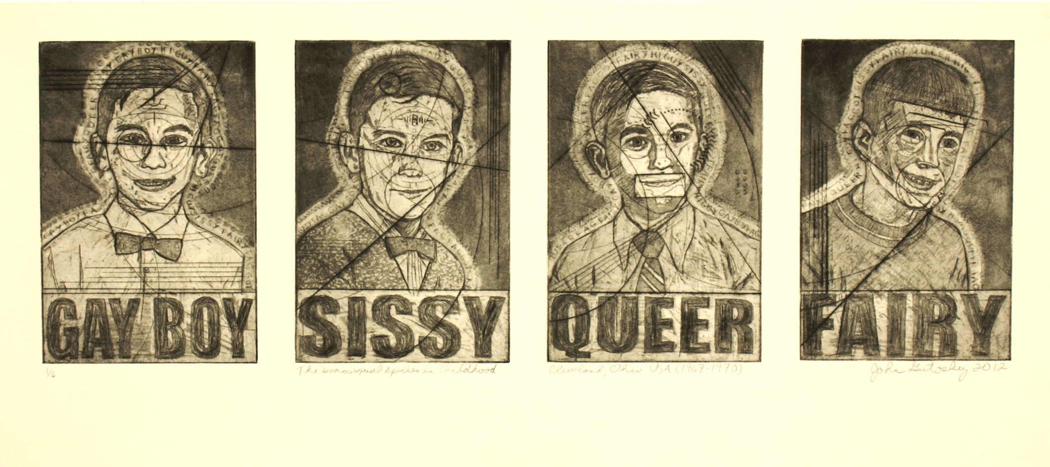"""The Homosexual Species In Childhood (Cleveland, Ohio USA 1967-1970)\""