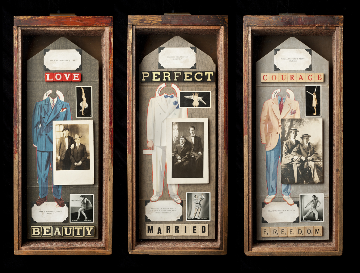"""Marriage Triptych 1\""
