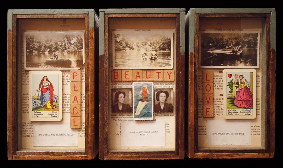 """Peace Beauty Love\""