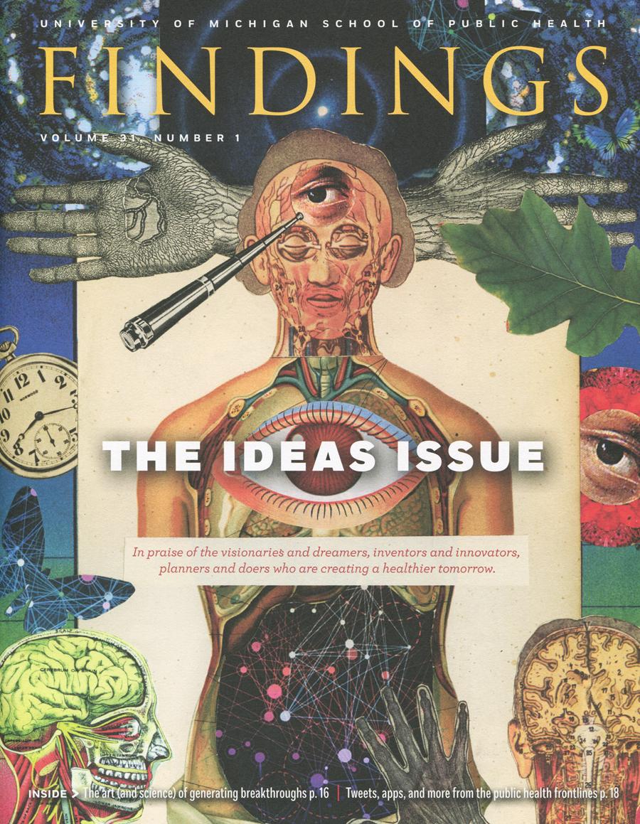 FINDINGS Magazine Cover Art